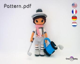 Pattern - Gary & his Golf Set