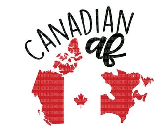 Canada SVG Files, SVG Files for Cricut, Design Space and, Silhouette Studio,  Printable Clipart, Canadian Cut File, Scrapbooking