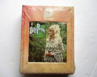Vintage Dolly Parton Just The Way I Am 8-Track Tape 8-Track Cartridge Sealed