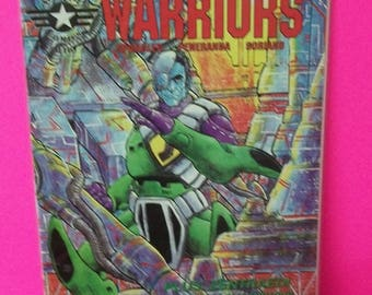 Robotech Warriors #3  VF-NM  Unread  1995  Academy Comics Black And White Science Fiction  Comic Book
