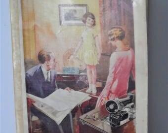 """Vintage Singer Sewing Machine Sewing Book."""" Sewing Simplified"""" sewing Book. 1920s Sewing Book"""