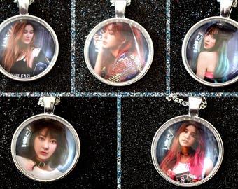 EXID - Solji, LE, Hani, Hyerin, Junghwa - Kpop Necklace