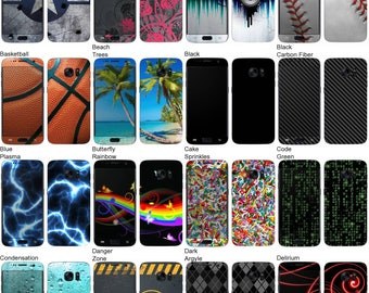 Choose Any 2 Designs - Vinyl Skins / Decals / Stickers for Samsung Galaxy S7 Android Smartphone