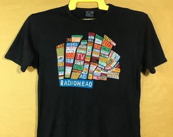 RADIOHEAD Hale Of The Thief Album Cover Band Tshirt Adult Small Size Made In UK