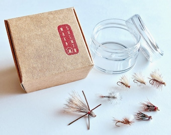 TROUT GIFT PACK: 8 Handmade Fly Fishing Flies