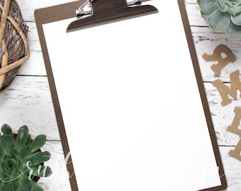 Clipboards letters styled stock photo, flat lay background for Hand-Lettering