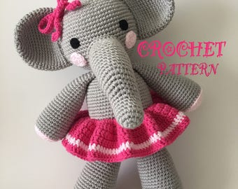 Crochet Amigurumi Elephant Pattern ( English only )