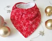 Christmas baby gift, baby's first Christmas, first Christmas, Christmas bandana bib, Christmas bib, holiday bibs, Christmas baby bib