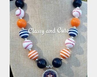 Houston Astros Necklace