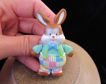Vintage Easter Bunny Pin-Arms & Legs Move