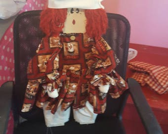"""28"""" Wooden Chef Doll"""