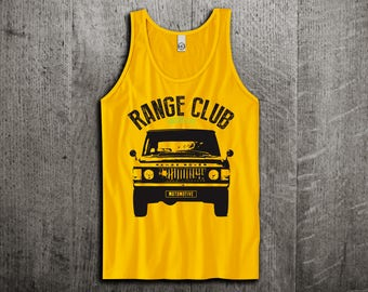 Land Rover Tank Top, Range Rover t shirts, Jeep shirts, Jeep tanks, Land Rover classic shirts, Truck t shirts Unisex Tank Tops Motomotiveink