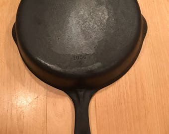 Vintage Wagner Sidney O Cast Iron Skillet with free shipping