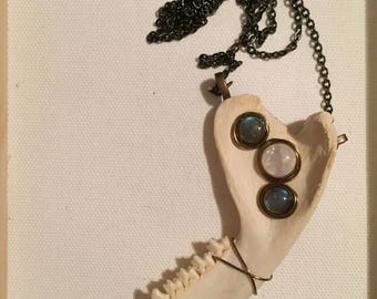 Jawbone Necklace