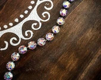 Swarovski Crystal Bracelet in AB Crystal