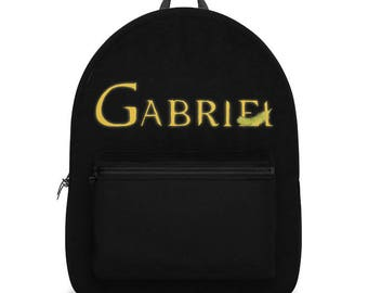 Supernatural Archangel Gabriel with Feather Backpack
