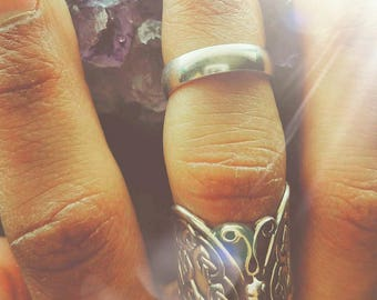 Solid Sterling Silver Midi Ring