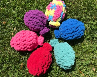 Crochet Water Balloons Set of 6, Eco-Friendly Water Balloons, Crochet Water Balloons, Reuseable Water Balloons, Summer Party Fun, Lawn Game