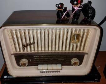 Vintage Telefunken Jubilate 5161 pink radio FREE SHIP  rockabilly, retro vintage radio vintage music retro radio rockabilly psychobilly mod