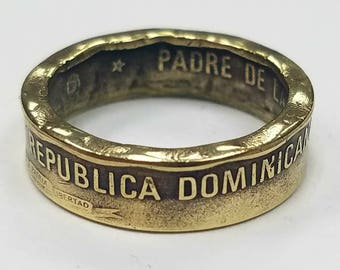 Dominican Republic Coin Ring