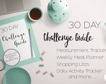 Coach 30 Day Challenge Guide - Complete Printable Planner