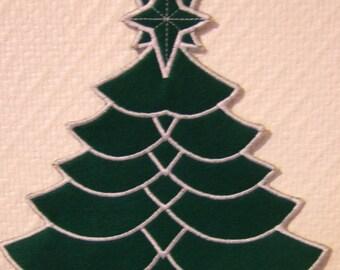 Decorative Christmas tree felt 1