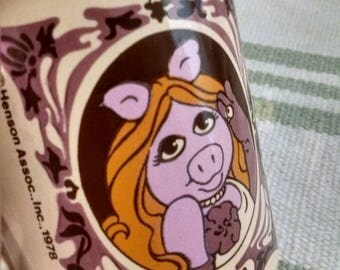 Miss Piggy The Muppet Show Vintage Mug