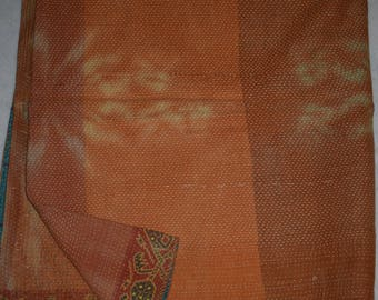 Indian Handmade Kantha Quilts Vintage Throw Bedcover Bedspread Gudri 2133 BY artisanofrajasthan