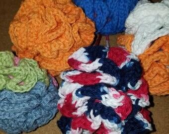Cotton Body Loofah/pouf Reusable & Washable