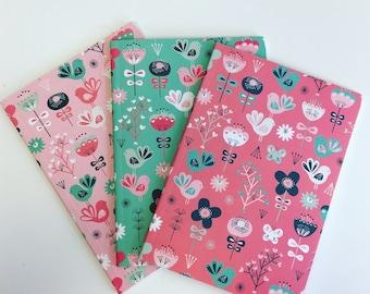 Birds & Flowers Notebook