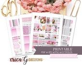 PRINTABLE FULL KIT: Mother's Love/Erin Condren Vertical/Printable/Digital/Weekly Kit