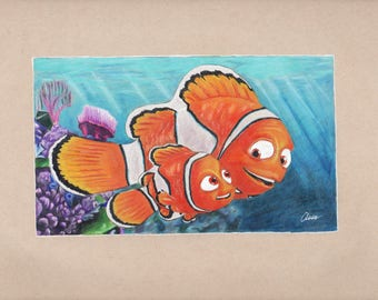 Finding nemo drawing