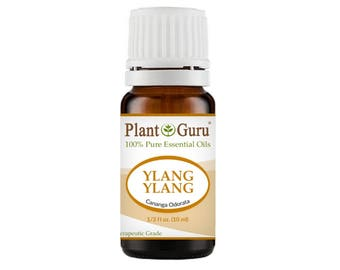 Ylang Ylang Essential Oil  100% Pure, Undiluted, Therapeutic Grade.