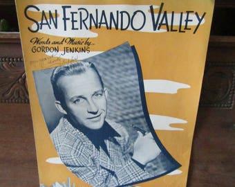 San Fernando Valley Sheet Music