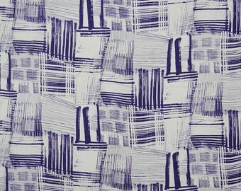 """Apparel Fabric Material, Off White Fabric, Printed Fabric, Sewing Decor, 45"""" Inch Cotton Fabric By The Yard ZBC8326A"""