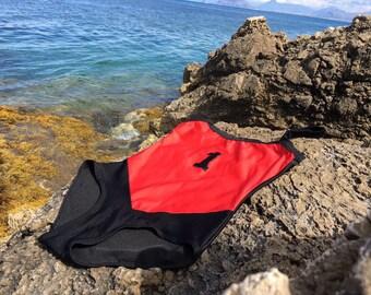 Vintage swimsuit//one piece swimsuit//fashion summer//body beach/1980 vintage