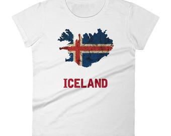 The Iceland Flag T-Shirt (women)