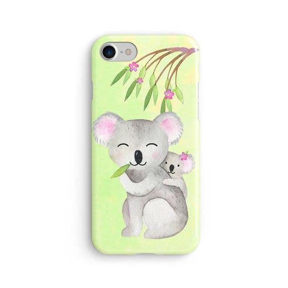 Watercolor koalas  iPhone X case - iPhone 8 case - Samsung Galaxy S8 case - iPhone 7 case - Tough case 1P067