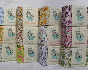 Goat milk soaps gift bag