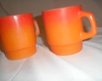 Anchor Hocking Fire King mugs