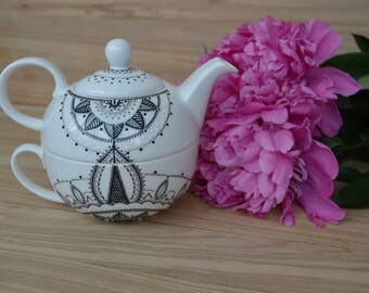 Black kettle Black teapot