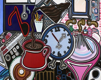 """Original Pop Art painting 