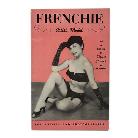 Frenchie, late 1950s. Little pink French-themed pinup mag ;)