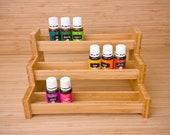 Essential oil Rack  Essential oil storage   essential oil shelf large   essential oil rack wood   wooden   Bamboo   wood   Essential oil