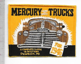 Vintage Truck Mercury Light & Heavy Trucks 1946 Models Dearborn, Michigan