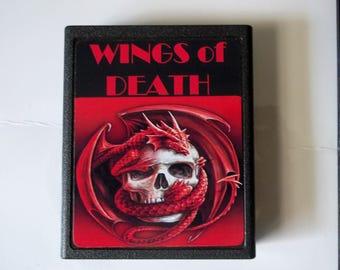 Atari 2600 WINGS of DEATH Video Game Cartridge < Free Shipping >