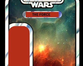 "STAR WARS - The force - carded ""figure"""