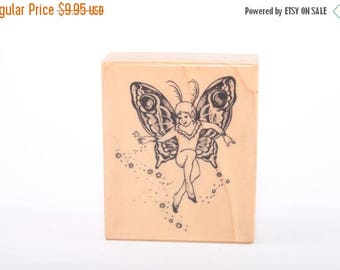 Fairy - Nymph - Magical - Angel - SINGLE STAMP - Vintage - Card Making - Crafts ~ 161222
