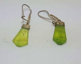 Vesuvianite Earrings Green Idocrase@ Afghanistan (3)