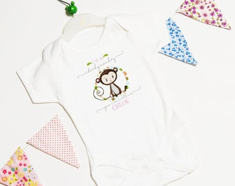 Personalised Baby Grow | Newborn Baby Garment | Baby Clothes | Custom Baby Grow